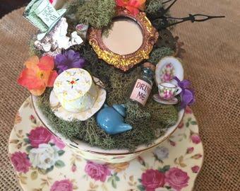 Mad Hatter Teacup Centerpiece