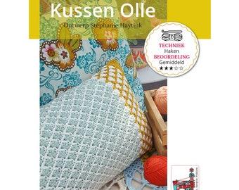 Crochet pattern Cushion ' Olle '
