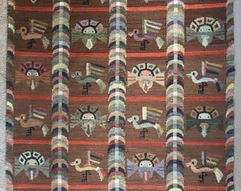 Vintage Peruvian Rug