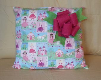 Young Girls Princess Pillow