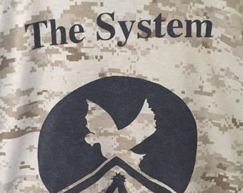 The System Shirt Punk UK