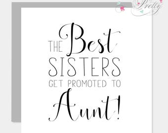 Best Sisters get Promoted To Aunt