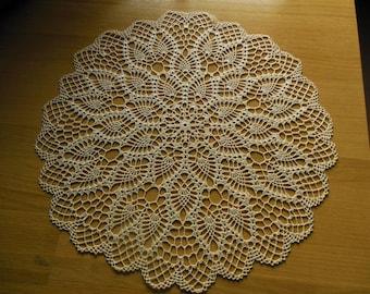 """Doily crochet round """"Honorine"""""""