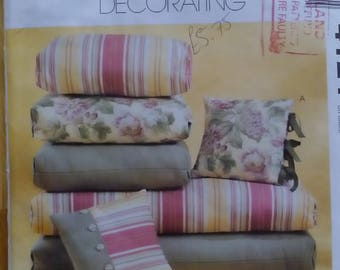 McCalls HOME Decorating Patio Cushions Pattern