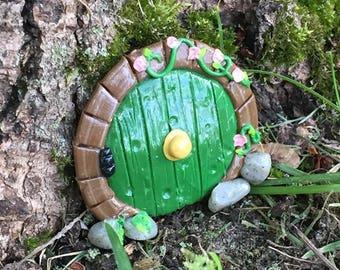 Hobbit Inspired Terrarium Door
