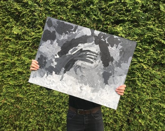 Original painting ' headache '