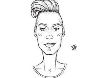 Small Cartoon Sketch