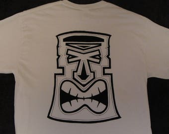 Tiki Head t-shirt, Tiki t-shirt, Hawaii t-shirt,