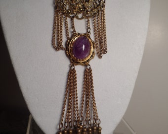 Victorian Revival Brooch-6 inches Long