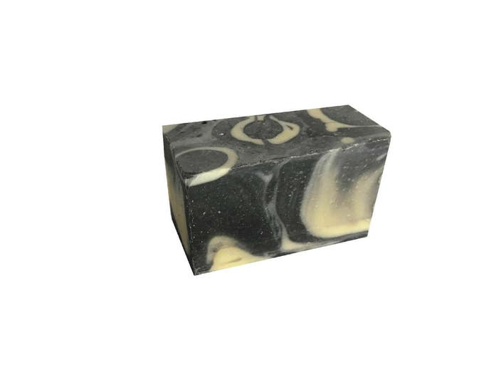 Large Cinnamon Charcoal Awesome Organic Soap, Botanically Marvelous. Nourish with Nature