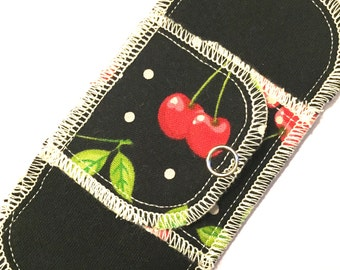 Organic Mini Pantyliner Moonpads Cotton Cloth Pads - Cherry