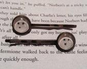 Harry Potter Star Hair Pins / Harry Potter Gift / Star Hair Pins / Bobby Pins / Bookworm Gift Idea / Bookish Hair Pins / Stocking Stuffer