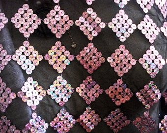 Sequin Mesh Lycra Fabric One Piece Stretch Fabric