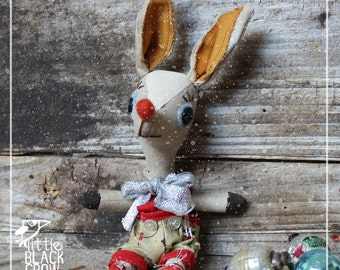 Christmas, cloth doll, reindeer, Peter