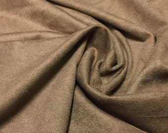 Stretch Suede Jersey Knit 1 Yard