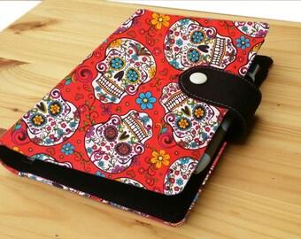 Red Sugar skull Mini Happy Planner Cover set includes mini Happy planner undated