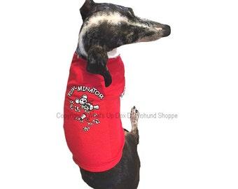 Dachshund T-Shirt Toy-minator Tank Style Dog Shirt