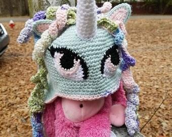 Pony Unicorn Hat