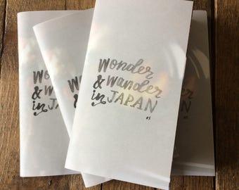 wonder and wander #5: japan
