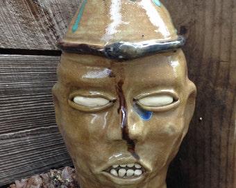FACE JUG by Joel Patton: Ourobouroi