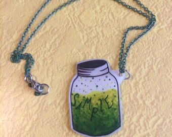 Sample in a Jar Necklaces/Phish