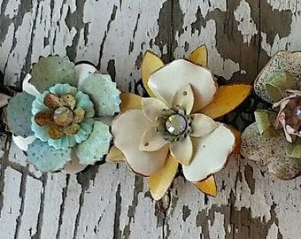 R.E.S.E.R.V.E.D. for Westlingjane,  a floral charm bracelet by Wendy Baker