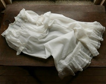 Antique Christening Gown 6-12 Months