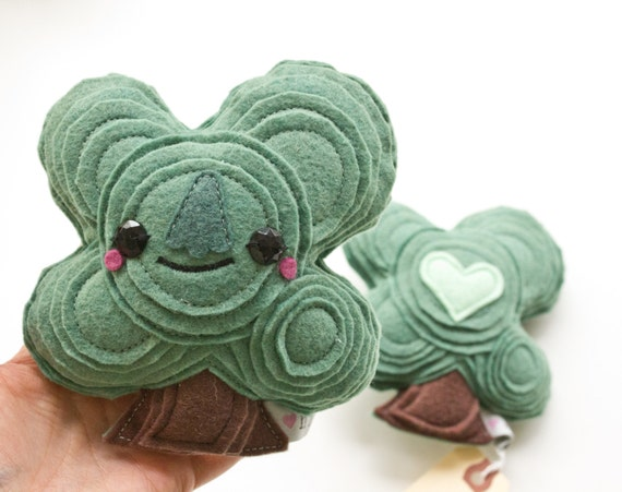 Oak Tree Plush Toy - XS