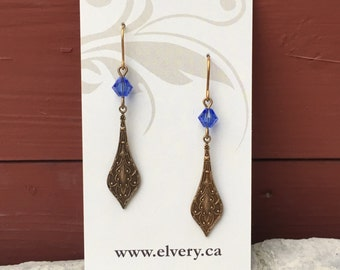Delicate Amulet Earrings - 3 color choices