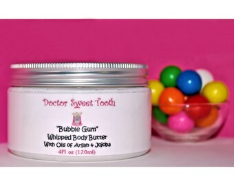 Bubble Gum Whipped Body Butter with Argan & Jojoba Oil