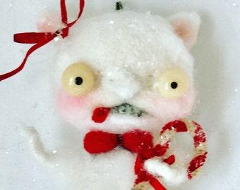 peppermint kitty ornie
