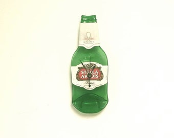 Stella Artois Clock, Stella Melted Bottle Clock, New Style Bottle,Holiday Gift For Him or Her