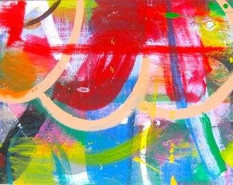 Can't Believe I Saw That / original painting / all that and more / 4852