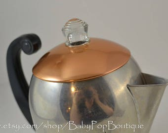 Retro Coffee wear-ever coffee pot 3088 halite/retro kitchen/ mid century/ mid century modern/modern decor