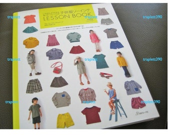 Japanese Sewing Pattern Book Sewing Clothing for Girls