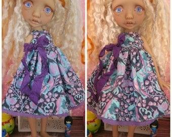 Mystery Elf Tiny BJD Babydoll Dress by Tickled Pink by Julie