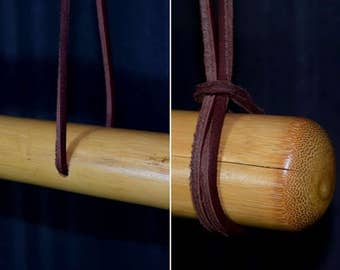 Natural Bamboo Display Rod Hanger For Japanese Kimono and Haori