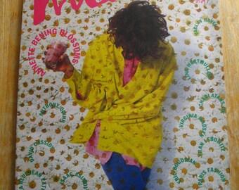 Vintage Interview Magazine-Andy Warhol-Annette Bening-David Cassidy-FranLebowitz