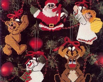 Hug-A-Bells ~  Plastic Canvas Leaflet ~  Christmas parrerns ~  NEW