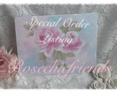 Special Listing for Suzanne  CLIPBOARD Standard Size