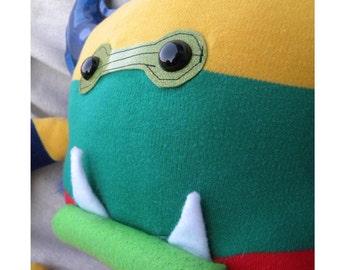 Rainbow Randy - Monster - plush - humor