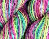 "100% Pima cotton yarn - colorway ""Sand Art"" - aran weight - in stock, ready to ship!"