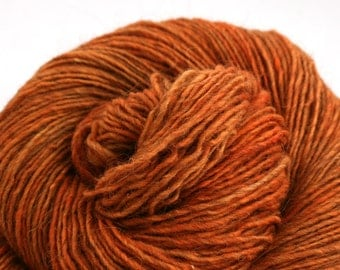Beacon fingering weight cormo alpaca angora blend yarn 250yds/229m 2oz/57g Ichabod's Pumpkin