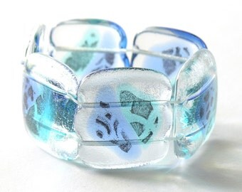 Modern jewelry kiln formed glass by nanette by nanettebevan for Jewelry by design rockville md