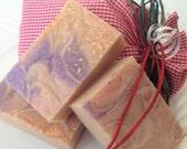 Sugar Plum goat milk soap, Christmas soap