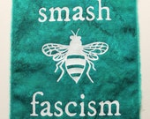 smash fascism bee patch