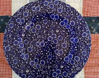 Blue Calico lunch plates set of 6