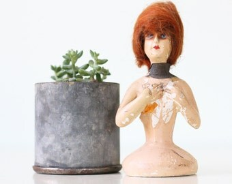 Vintage Chalkware Bust