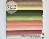 Baby's Breath Felt Collection, Wool Blend Felt, Wool Felt Sheets, Wool Felt Fabric, Felt Fabric Bundle, Wool Felt Bundles, Felt Collections