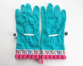Designer Garden Gloves - Flip Flops